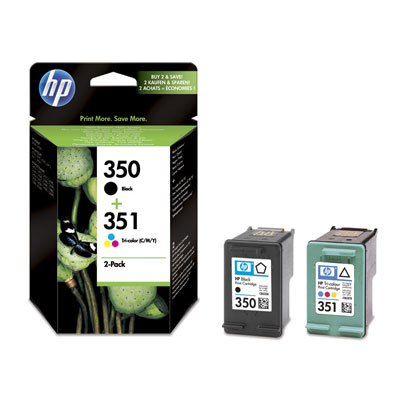 HP - 350+351 PACK - SD412 - PACK HP N.350 / N.351 - 1CONF