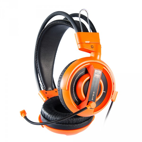 cuffie gaming con microfono cobra ehs013or