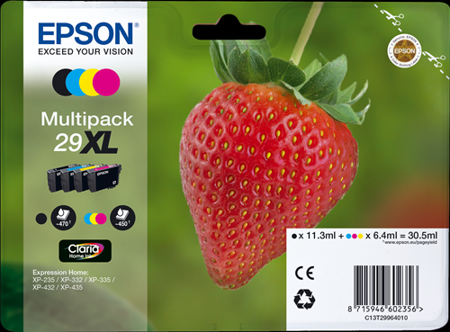 EPSON - FRAGOLA - 29 XL - MULTIPACK SERIE 29XL