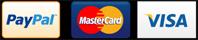Pagamento Paypal e Carte di Credito